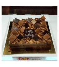 Royal Chocolate Crunchy Cake
